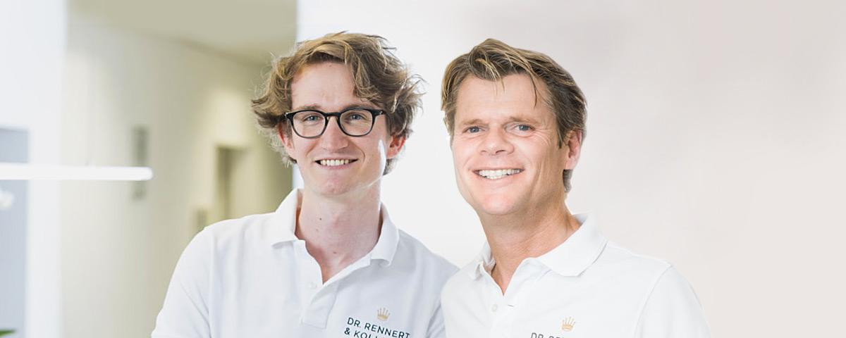 Zahnarzt Dr. Rennert und Kollege Kassel